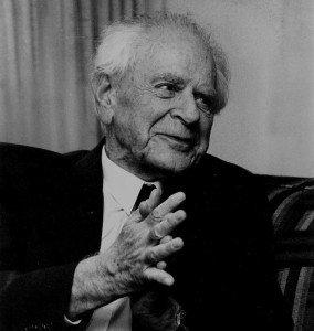 Karl Popper : A quoi reconnait-on une science? dans articles popper-284x300
